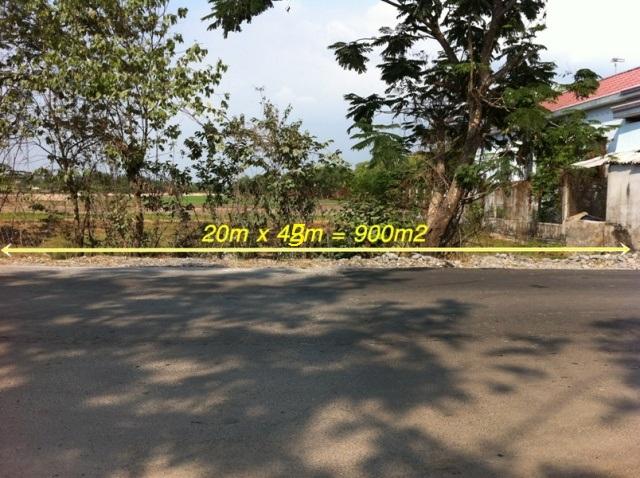 Bán đất Mặt tiền tỉnh lộ 10 Củ Chi 20m x 45m= 800 triệu