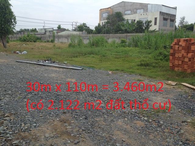 nhà đất xưởng 3.460 m2 mặt tiền quốc lộ 22 Củ Chi giá 14 tỷ