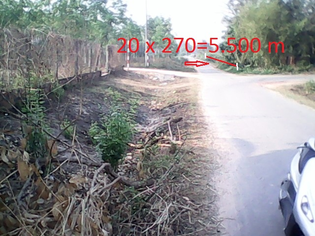 Bán 5.500m2 đất mặt tiền đường nhựa khu dân cư xã Thái Mỹ,Củ Chi  giá 220 ngàn/1m2