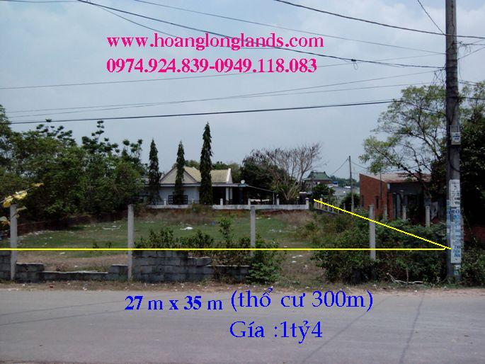 Đất thổ cư củ chi,đất rẻ củ chi 1000m2 [1tr4/m2], 300m thổ cư , Xã Tân Phú Trung,H Củ Chi,TP Hồ Chí Minh.