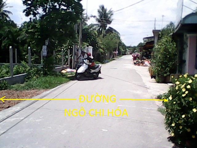 Bán đất củ chi 3.400m2 mặt tiền đường Ngô Tri Hóa,thị trấn Củ Chi giá 900 ngàn/1m2