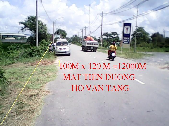 Bán đất xưởng 12000m2 mặt tiền Hồ Văn Tắng giá 12 tỷ
