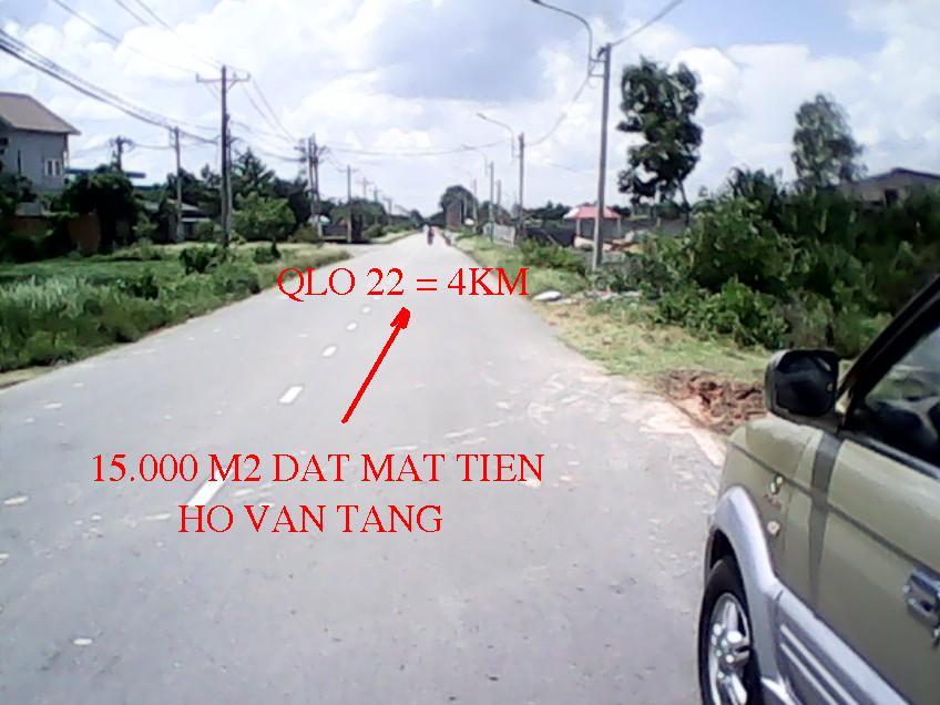 Bán đất vườn 15000m2 mặt tiền Hồ Văn Tắng giá 12 tỷ