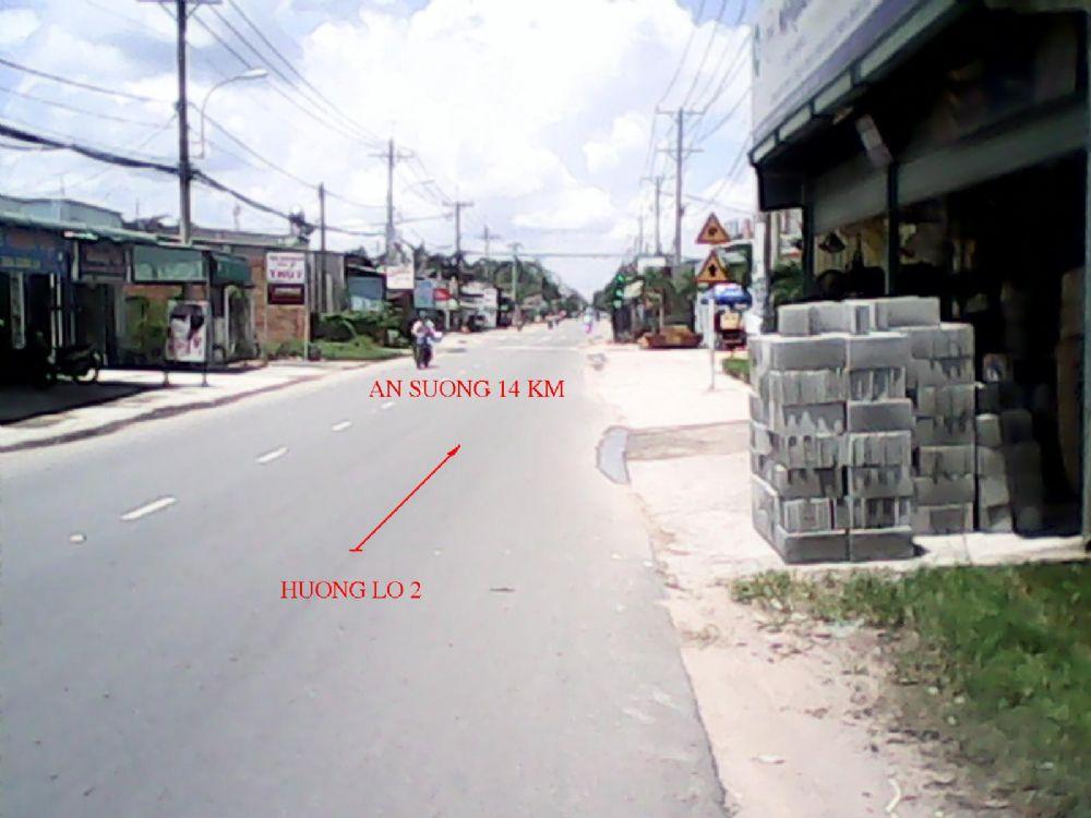Bán đất xưởng 5300m2 mặt tiền Hương Lộ 2 giá 14 tỷ