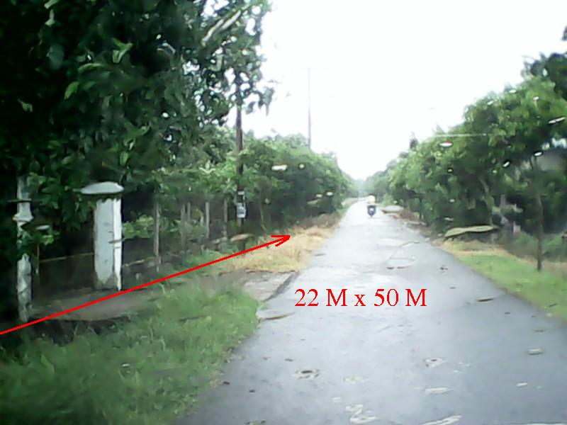 Bán 1100m2 nhà + đất (22m x 50m) xã Phước Vĩnh An - Củ Chi (500m thổ cư) giá 1tỷ900 triệu (0949.118.083)