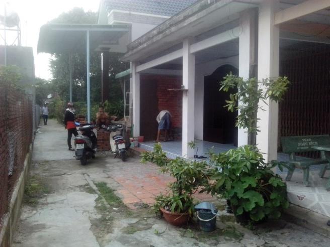 Bán nhà thị trấn Củ Chi Tp HCM 7mx22m= 160m đất thổ cư,giá 500tr (c. Lành 0974924839).