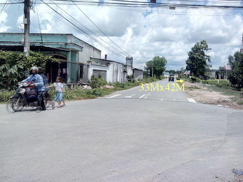 Bán 33m đất mặt tiền đường số 35 Tân Thông Hội-Củ Chi-HCM.Gía:1tỷ 900triệu