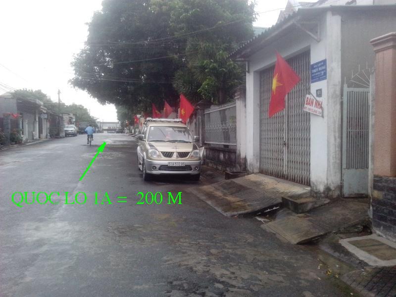 Bán nhà mặt tiền đường Đặng Nguyên, khu phố 3,ph.Long Bình,Biên Hòa,Đồng Nai (265m) 2tỷ800 triệu