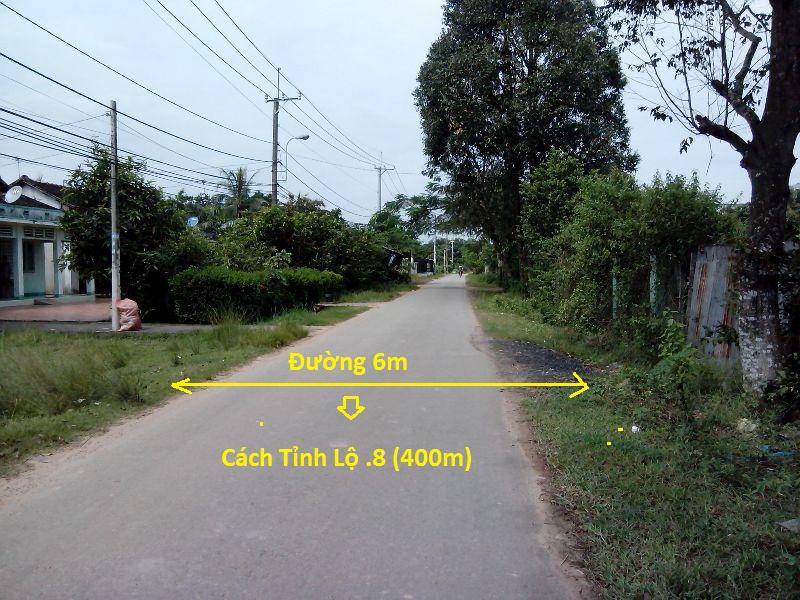 Bán 2120m2 đất xã Tân An Hội- Củ Chi- TP.Hồ Chí Minh 26m x 80m giá 990 triệu