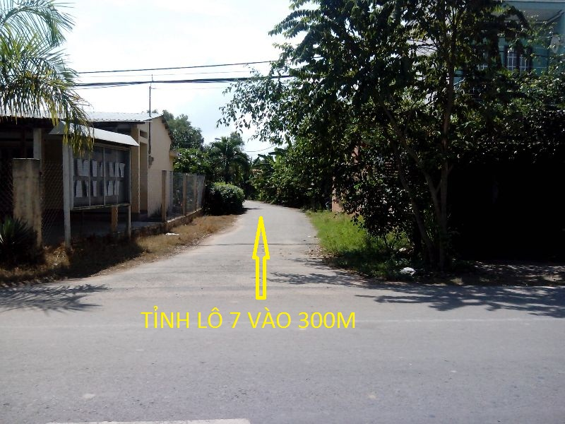 Bán đất 2 mặt tiền 12m x 60 m xã Thái Mỹ Củ Chi giá rẻ ( 320 triệu)